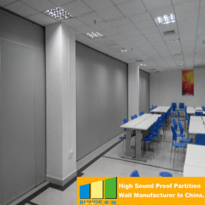 Acoustic Folding Office Partition Walls with 65mm Thickness Panel