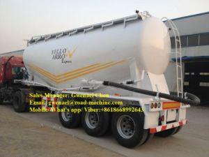70cbm Dry Bulk Cement Powder Tanker Semi Trailer pictures & photos