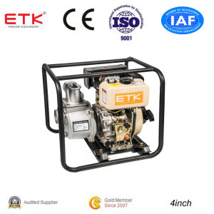 CE&ISO9001 Approved 4′′ Portable Diesel Water Pump pictures & photos