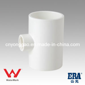 Agriculture Manufacturing Watermark Certificated Tee PVC Fitting pictures & photos