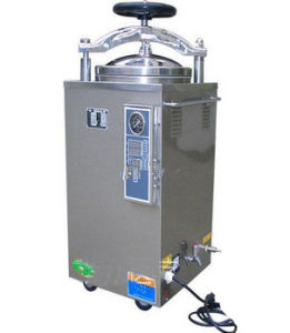 High Class Vertical Pressure Steam Sterilizer with Certificate pictures & photos