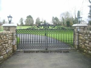 Elegant Design Eyebrow Gates with Iron pictures & photos