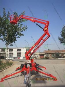 High Quality Telescopic Articulated Boom Lift pictures & photos