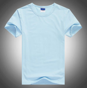 Factory High Quality Plain Crew Neck Short Sleeves T Shirt pictures & photos