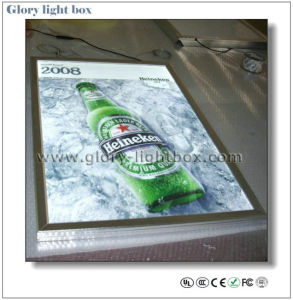 A1 Size Edge-Lit Clip Frame Slim Ultra Thin Light Box pictures & photos