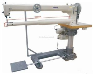 Triple Feed Small Cylinder Bed Long Arm Sewing Machine for Golf Bags pictures & photos
