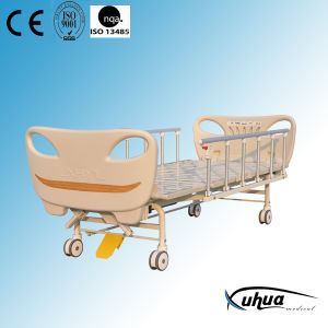 Double Cranks Mechanical Hospital Sick Bed (A-12) pictures & photos