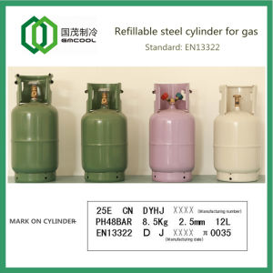 Refillable Welded Steel Cylinder for Gas Ce pictures & photos