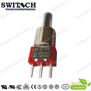 SGS Micro 2A 5A Push Button Switch with Metal Actuator