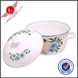 Durable Enamel Cookware Sauce Pot pictures & photos