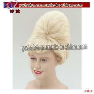 Party Afro Wig Yiwu Market Agent Party Products Service Buying (C3034) pictures & photos
