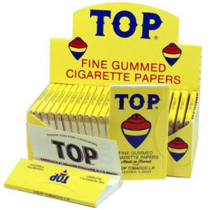 Top Fine Gummed Cigarette Rolling Papers 24 Booklets Paper (ES-RP-022) pictures & photos