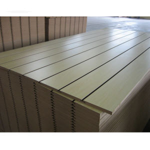 PVC Slatwall Board PVC Slot Board pictures & photos