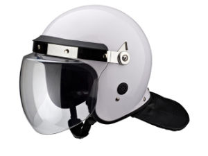 PC/ABS Black Anti-Roit Helmet for Military Equipment pictures & photos