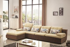 Modern Furniture Italian Fabric Sofa pictures & photos