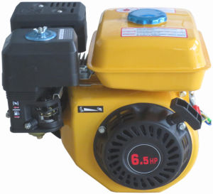 6.5HP Yellow Color Gasoline Engine (HH168F/HH168II) pictures & photos