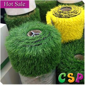 Long Yarn Anti-UV Colorfast Artificial Wheat Grass pictures & photos