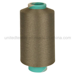 "100% Polyester DTY Yarn for Knitting (100d/36f/2 SD ""S""+""Z"" Him) pictures & photos"