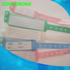 Disposable Medical Patient Wristbands Bracelet for Hospital pictures & photos