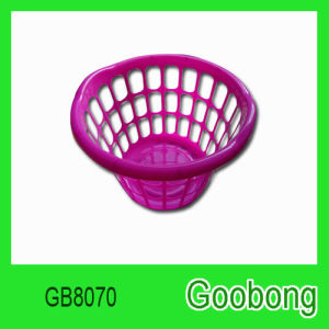 Round Plastic Laundry Basket