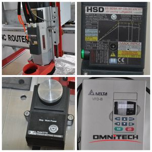 Hsd Spindle 1325 CNC Router for 3D Work with Ce pictures & photos