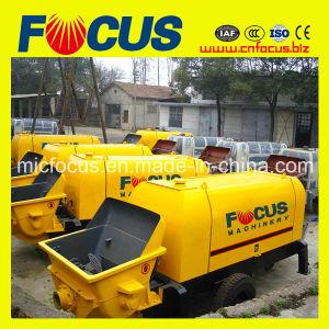 Nice Quality Trailer Concrete Pump Electric Power, Concrete Conveying Pump pictures & photos