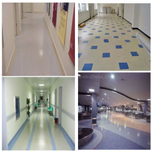 Best Price Indoor Soundproof PVC Flooring pictures & photos
