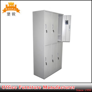 Customized Metal Changing Room Use Six Doors Steel Clothes Locker pictures & photos
