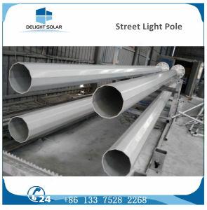 6m/7m/8m/ Painting Plastic Double Arm DC Solar Street Light Pole pictures & photos