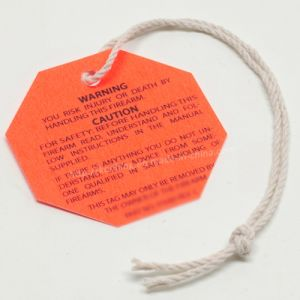 Paper Plastic Swing Ticket/ Label / Hangtag/ Hang Tag Supplier pictures & photos