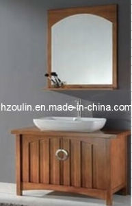 Solid Wood Bathroom Cabinet (BA-1131) pictures & photos