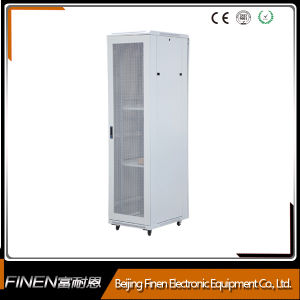"19"" 42u Floor Standing Network Cabinet Rack with Grey Color pictures & photos"