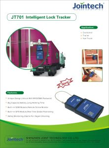 Container Electronic Locker with RFID Card for Safety Control pictures & photos