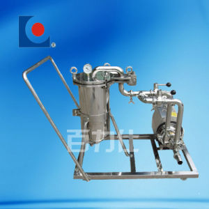 Sanitary Stainless Steel Mobile Bag Filter System pictures & photos