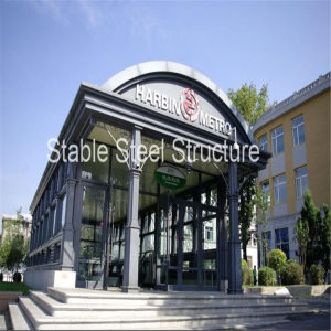 Light Steel Structure Canopy to Underground Carport pictures & photos