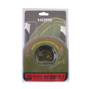 1080P HDMI Cable/V1.3 V1.4 High Speed Golden Plated Plug HDMI pictures & photos