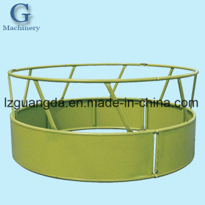 Round Hay Bale Feeder for Cattle, Horses, Alpacas, Sheep pictures & photos