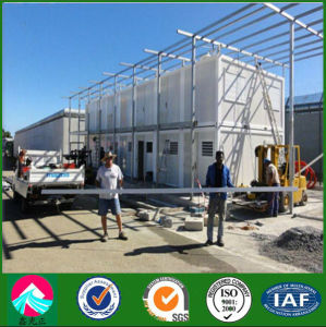 Low Cost Prefab Container House in Africa pictures & photos