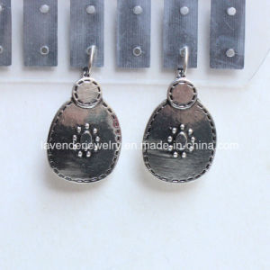 Clip Earrings for Women Antique Silver Plated Accessory Charm