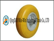 Solid PU Flat-Free Wheel for Wheelbarrow Tire (4.00-6) pictures & photos