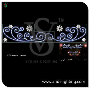 Snowflake Motif Light LED Christmas Light pictures & photos
