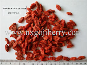 Certified Organic Goji Berries From Ningxia Zhengyuan 160 PCS/50g pictures & photos