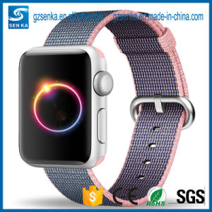 Woven Nylon 38mm&42mm Adjustable Cuff Watch Band for Applewatch pictures & photos