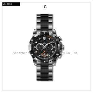 Heavy High Quality Sport Watch Stainless Steel Men′s Automatic Watch Wrist Watch pictures & photos