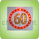 Solar Speed Limit Sign (CLSSL-80)