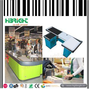 2017 Supermarket Retail Motorized Cash Checkout Counter pictures & photos