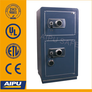 Two- Door Steel Office Safe with Combination Lock (BGX-BJ-D100LR) pictures & photos