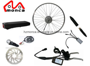 Rear Rack Li-ion Battery Plus LCD Display 36V 350W Electric Bike Conversion Kit pictures & photos