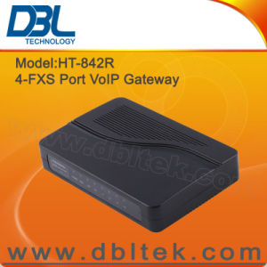 DBL 4-Port FXS (ATA) VoIP Gateway (HT-842R) pictures & photos