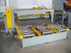 Steel Drum Making Equipment Material Conveying Roller Table pictures & photos